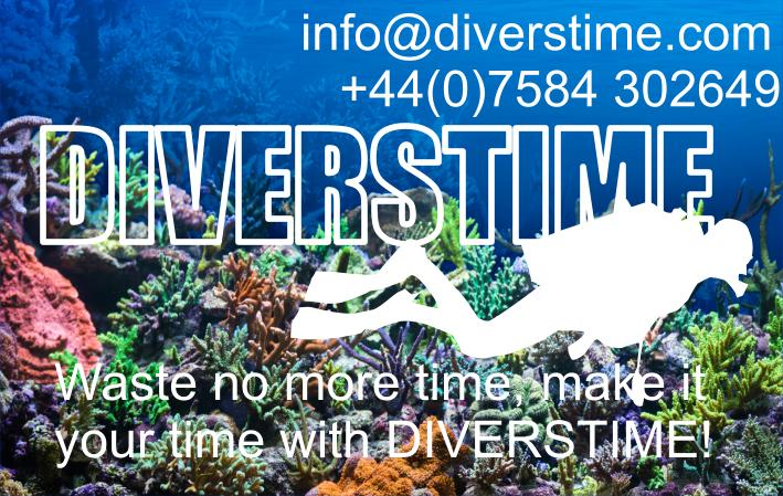 Diverstime - Waste no more time make it your time with Diverstime!